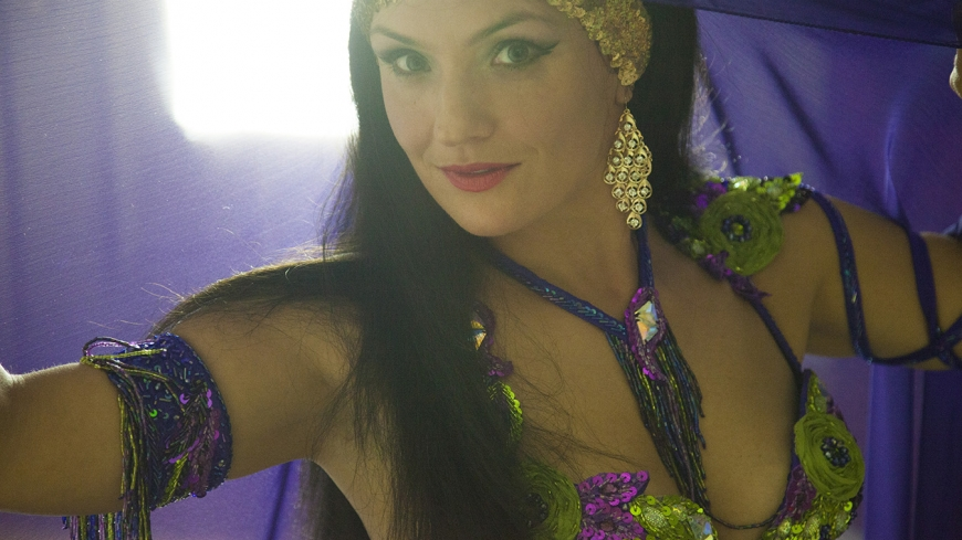Katia Bay Area Bellydancer, Bollywood dancer