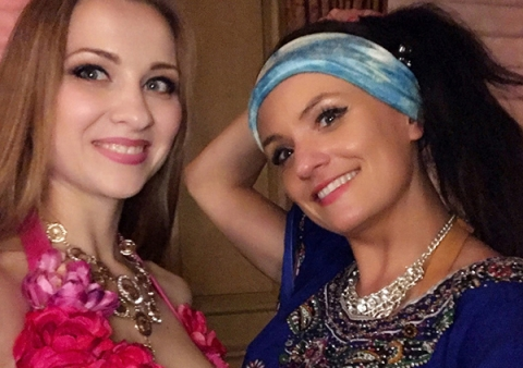 Hire two belly dancers for party